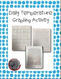 Daily Temperature Graphing Activity - Comparing Seasonal Temperatures