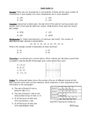 STAAR Daily Test Prep - 6th Grade Math - 40 weeks! (new)