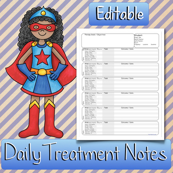 Daily Therapy TREATMENT NOTES: Occupational Therapy, Physi