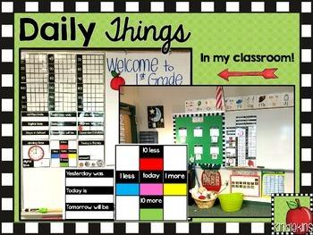 Daily Things K-2