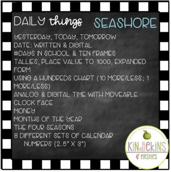 Daily Things Seashore