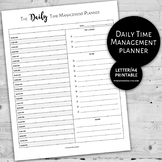 Daily Time Management Planner