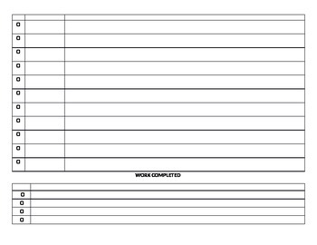 Daily Time Management Worksheet
