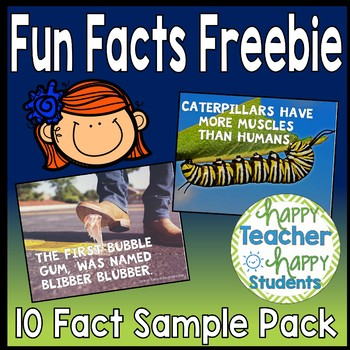 Daily Trivia: 10 Fun Facts of the Day {FREE Sample Set}