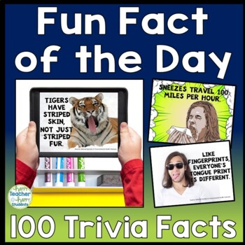 Daily Trivia: 100 Fun Facts of the Day!