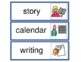 A Daily Visual Schedule for the Classroom- Boardmaker