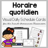 Daily Visual Schedule - Horaire quotidien visuel