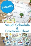 Daily Visual Schedule and Autism Bundle