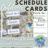 Daily Visual Schedule for an Outdoor Classroom