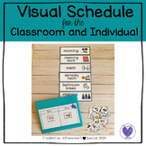 Daily Visual Schedule for the Classroom and Individual Mini Schedule