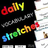 Daily Vocabulary Mini-Lessons: Grade 1 (SET A)