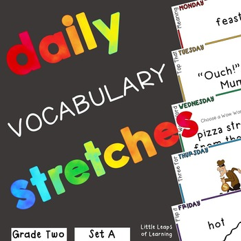 Daily Vocabulary Mini-Lessons: Grade 2 (SET A)