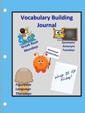Daily Vocabulary Skill Building Journal