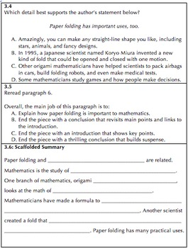 Daily Warm-Up Activities for Nonfiction Test Preparation