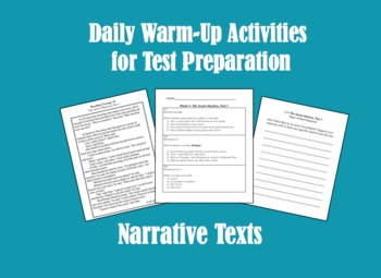 Daily Warm Up Activities for Test Preparation, Narrative Texts