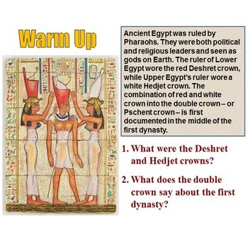 World History Daily Warm Up Question Bundle