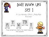 Daily English Skills:  Set 1