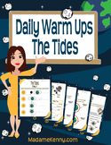 Daily Warm Ups:The Tides
