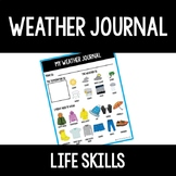 Daily Weather Journal Page