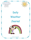 Daily Weather Journal for Primary Grades