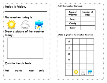 Daily Weather Log Book