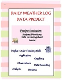 Daily Weather Log Graph Analysis Project