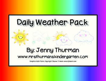 Daily Weather Pack
