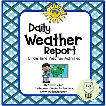 Daily Weather Report-Circle Time Activities