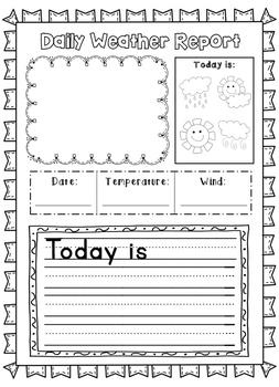 Daily Weather Report - Differentiated