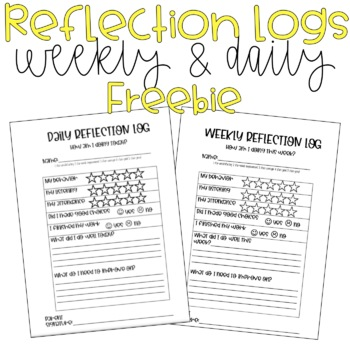 Daily/Weekly Reflection Logs
