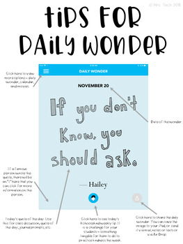 Daily Wonder Project
