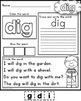 Daily Word Practice Pages - Spring