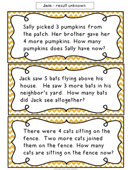 Daily Word Problem Practice:  October Freebie Sampler