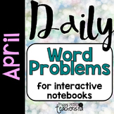 Daily Word Problems: April