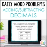 Daily Math Review: Decimal Addition & Subtraction