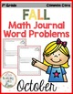 Daily Word Problem Math Journals GROWING BUNDLE