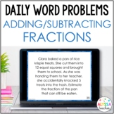 Daily Math Review: Fraction Addition & Subtraction
