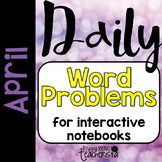 Daily Word Problems: May