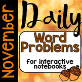 Daily Problem Solving: November