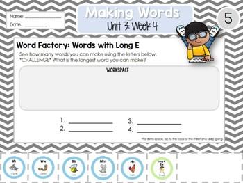 Daily Word Work: 2nd Grade Unit 3: Week 4