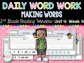 Daily Word Work: 2nd Grade Unit 4: Week 4