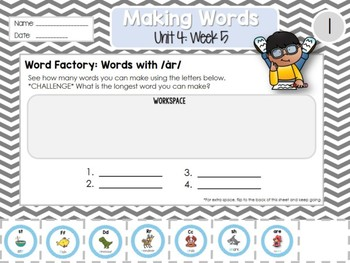 Daily Word Work: 2nd Grade Unit 4: Week 5