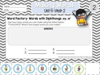 Daily Word Work: 2nd Grade Unit 5: Week 2