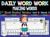 Daily Word Work: 2nd Grade Unit 5: Week 3
