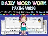 Daily Word Work: 2nd Grade Unit 5: Week 4