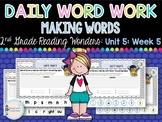 Daily Word Work: 2nd Grade Unit 5: Week 5