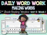 Daily Word Work: 2nd Grade (Unit 6, Week 1)