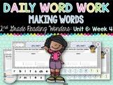 Daily Word Work: 2nd Grade (Unit 6, Week 4)