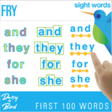 Sight Words  Fry First 100 Words