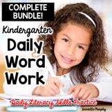 Daily Phonics and Phonemic Awareness for Kindergarten MEGA Bundle